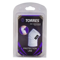 Эластичный бинт TORRES 80x1200mm PRL11002 White/Black