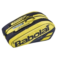 Чехол 10-12 ракеток Babolat Pure Aero 751180 Yellow/Black