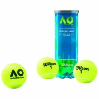 Мячи для большого тенниса Wilson Australian Open 3b WRT109800