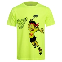 Футболка Kumpoo T-shirt JU KW-9313J Yellow