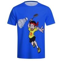 Футболка Kumpoo T-shirt JU KW-9313J Blue
