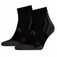 Носки спортивные Head Socks Performance Quarter x2 180012 Black/Gray