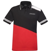Поло Donic Polo Shirt M Prime Black/Red