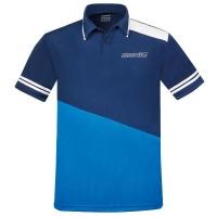 Поло Donic Polo Shirt M Prime Blue/Cyan
