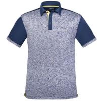 Поло Donic Polo Shirt M Melange-Pro Blue