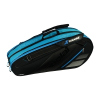 Чехол 4-6 ракеток Babolat Team Expandable 751156 Black/Cyan