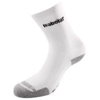 Носки спортивные Babolat Socks Free Slyde S63901 White/Gray