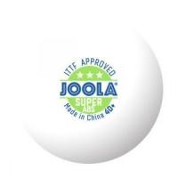 Мячи Joola 3* Super 40+ Plastic ABS x6 White