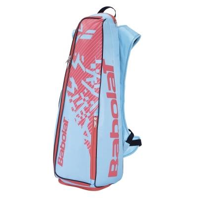 Рюкзак Babolat Long BackRacq Badminton Cyan/Pink 757004