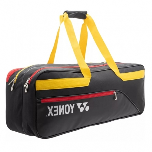 Чехол 1-3 ракетки Yonex 82031 Active 2way Tournament Bag Black/Yellow
