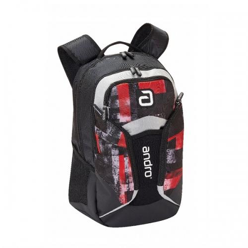 Рюкзак ANDRO Fraser Backpack Black/Red