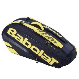 Чехол 4-6 ракеток Babolat Pure Aero Black/Yellow 751212