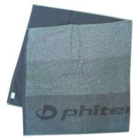 Полотенце Phiten Bath Towel 60x120 TU530 Grey