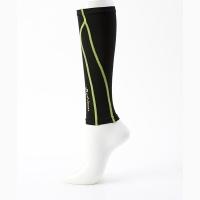 Гетры Phiten X30 SL536 x2 Black/Green