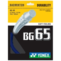 Струна для бадминтона Yonex 10m BG-65 70 Prepacked Blue