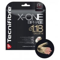 Струна для сквоша Tecnifibre 9m X-One Biphase Red