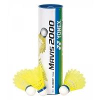 Воланы для бадминтона Yonex Mavis 2000 x6 Yellow