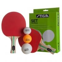 Набор для настольного тенниса Stiga Technique (2r, 3b) 1220-0815-01