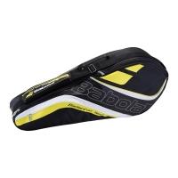 Чехол 1-3 ракетки Babolat Team Line Badminton 751138 Black/Yellow