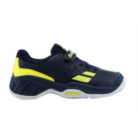 Кроссовки Babolat Junior Pulsion All Court Kid Blue/Yellow