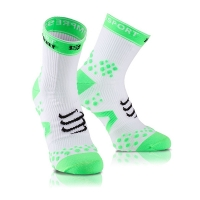 Носки Compressport Socks Recovery White/Green