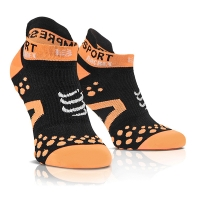 Носки Compressport Socks Strapping Double Layer Low Cut Black/Orange