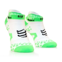 Носки Compressport Socks Strapping Double Layer Low Cut White/Green