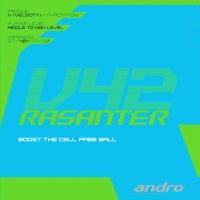 Накладка для настольного тенниса ANDRO Rasanter V42