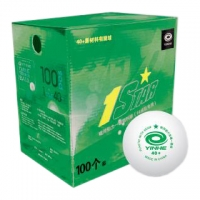 Мячи Yinhe 1* Training ABS 40+ Plastic Box x100 White 9995G