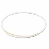 Ожерелье спортивное Phiten Rakuwa S Slash TG7134 White/Gold