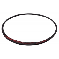 Ожерелье спортивное Phiten Rakuwa S Slash TG7131 Black/Red