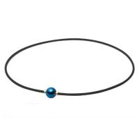 Ожерелье спортивное Phiten Rakuwa X100 Mirror Ball TG6403 Blue