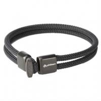 Браслет спортивный Phiten X100 Carbon TG6351 Black