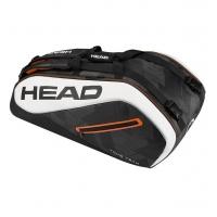 Чехол 7-9 ракеток Head Tour Team 9R Supercombi 283447 Black/White