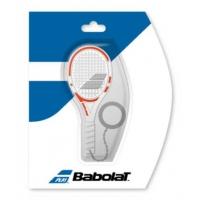 Брелок Babolat Keychain Mini Racket 507379 White