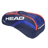 Чехол 7-9 ракеток Head Radical 9R Supercombi 283358 Blue/Orange