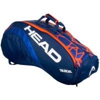 Чехол 10-12 ракеток Head Radical 12R Monstercombi 283308 Blue/Orange