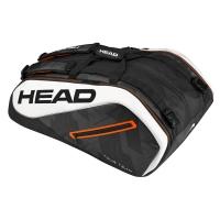 Чехол 10-12 ракеток Head Tour Team 12R Monstercombi 283437 Black/White