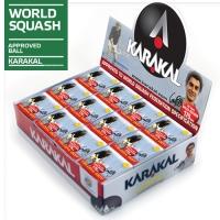 Мячи для сквоша Karakal 1-Yellow 1b Box x12 KZ675