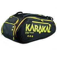Чехол 10-12 ракеток Karakal Pro Tour Elite KZ 990 Black/Yellow