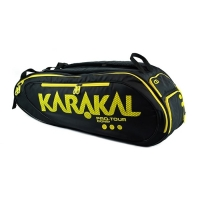 Чехол 7-9 ракеток Karakal Pro Tour Comp KZ 991 Black/Yellow
