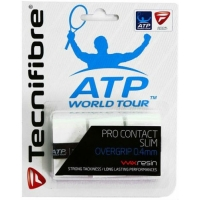 Овергрип Tecnifibre Overgrip Pro Contact Slim x3 52ATPCONSL White