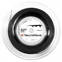 Струна для тенниса Tecnifibre 200m Blackcode 04RBLA Black
