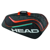 Чехол 4-6 ракеток Head Junior Combi Rebel 283586 Black/Orange
