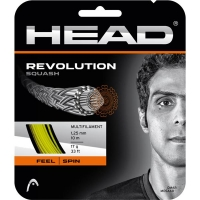 Струна для сквоша Head 10m Revolution Squash Yellow