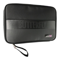 Чехол для ракеток Butterfly Square Single Black Line