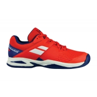 Кроссовки Babolat Junior Propulse Clay 33S18750 Red/Blue