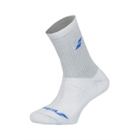 Носки спортивные Babolat Socks Junior x3 5JS18371 White/Blue