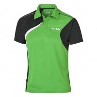Поло Stiga Polo Shirt M Voyage 1854-2819 Green/Black