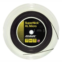 Струна для сквоша Ashaway 110m SuperNick XL Micro A10985 Black/White